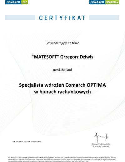 Specjalista wdrożeń Comarch Optima w biurach rachunkowych