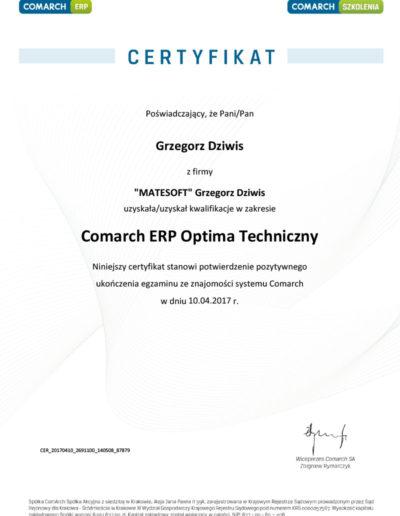 Comarch ERP Optima Techniczny